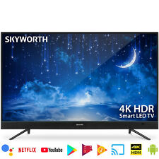 "Skyworth 49"" 4K Ultra HD HDR Android TV Smart ATSC HDMI USB Supported"