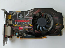 XFX ATI Radeon HD 5770 1GB PCI-E X16 Scheda Video Scheda grafica/DisplayPort HDMI