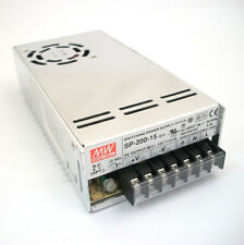 NEW Mean Well 15Vdc PFC Power Supply SP-200-15