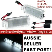LED Rear License Number Plate Light Housing For Ford Falcon FG/BA/BF XR 6/8