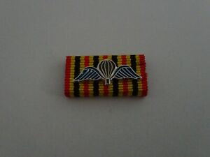 (S1-245) Bandspange Belgien Belgisches Fallschirmjäger Springerabzeichen