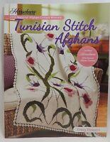 New Herrschners Tunisian Stitch Afghans 2012 Crochet Award Winners Pattern Book