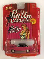 Johnny Lightning Pin Up Cars 1967 67 Plymouth GTX Convertible +Bonus Poster 1/64
