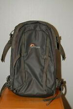 LowePro Whistler Backpack Grey BP 350 AW for Cameras & Equipment w/ Rain Cover