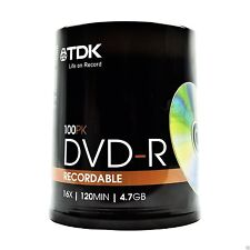 TDK CDs, DVDs and Blu-ray Discs