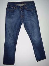 Nudie Jeans 'GRIM TIM ORGANIC DEEP SHADES' W36 L34 EUC RRP $249 Mens