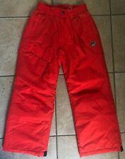 Boys Snow Pants--Rway-RED Size Medium 7/8--EUC WORN ONCE!