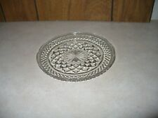 """Wexford Crystal Anchor Hocking 6"""" Bread and Butter Dessert Plate Unused"""