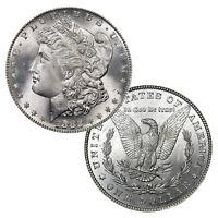 1882 P Morgan Silver Dollar $1 Brilliant Uncirculated BU 90% Silver