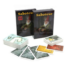 Saboteur 1+2 Card Game With English Instruction Jogos Tabuleiro Base & Extension