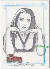 "2005 THE MUNSTERS HAND-DRAWN SKETCH CARD SKETCHAFEX ""LILY MUNSTER"" BY SEAN PENCE"