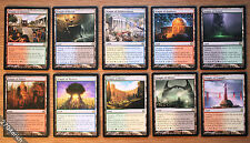 Temple of Scry Dual Lands 10x Lot Full Set - Theros *Unplayed NM* English MTG