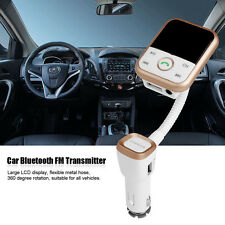 Bluetooth Auto Car MP3 Player USB SD FM Transmitter  Music Audio Stereo Radio