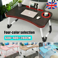 New Foldable Laptop Bed Table Lap Desk for Bed and Sofa Breakfast Lapdesk UK