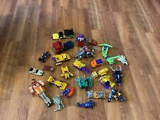 Vintage G1 Transformers Lot Optimus Prime Constructicon Dinobot More Parts