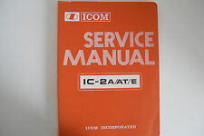 Icom - 2A/AT/E (authentique service manuel uniquement)... radio _ trader _ irlande.