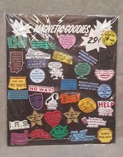 Vintage Store Display Magnetic Goodies Refrigerator Magnets Comedy