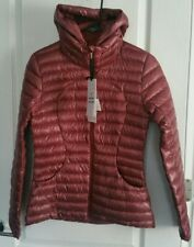 NWT Lululemon Pack It Down Jacket *Shine Chianti CHIA Size 4 + Lg Shopping Bag