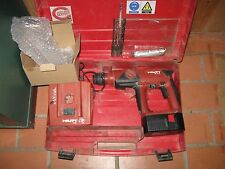 HILTI Akku  Bohrhammer TE 2A  evtl. mit Koffer 4 Bohrern  Bohrhammer TE 2 SDS