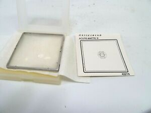 Hasselblad 42215 Acute-Matte D Microprism with Split Image in Box and in EC
