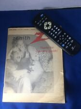 Vtg Zenith Vcr Remote Control & Owners Manual H2543Dt and Others