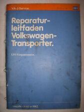 T2 T3+syncro Reparaturhandbuch 1,9 DG+DF Motor+Vergaser+Zündung+Auspuff+Kühler++
