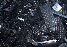 Lego Konvolut schwarz Steine 500g,Grundstein,Kiloware,Space,Technic,City,Platten