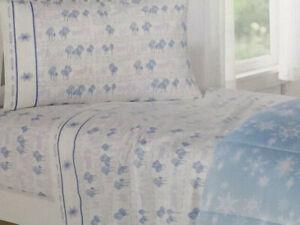Disney Jumping Beans Twin Flannel Sheet Set - Frozen 2