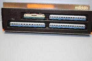 Märklin 8105 Mini Club Train Set Flughafen-Express Elok Series 111 Z Gauge Boxed