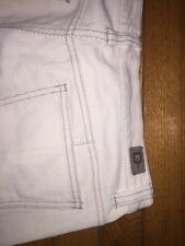DKNY EAST VILLLAGE JEAN Size 8 - Light weight Corduroy - Cream (A-1)