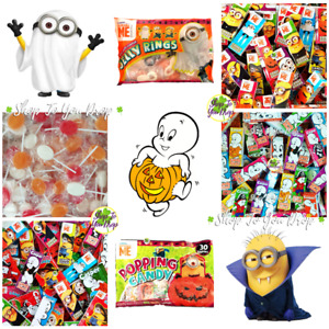 CASPER & MINION HALLOWEEN SWEETS POPPING CANDY STICKS Trick Or Treat Kids Party
