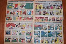 Lot Sunday Newspaper Comics Philadelphia Inquirer Rotocomic 1968 Rick O'Shay
