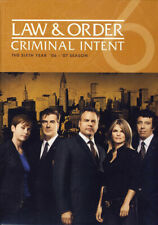 Law and Order Criminal Intent - Sixth Year (6) New DVD