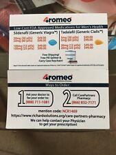 Rx Discount card  4romeo Better Than Goodrx cvs walgreens giant safeway