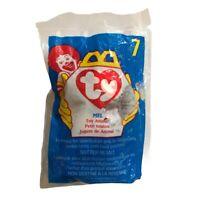 Happy Meal Toys McDonald\u2019s 1998 Ty Beanie Baby Bones Toy