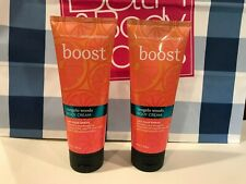 Bath & And Body Aromatherapy Boost Tangelo Woods Body Cream Lot Of 2 New