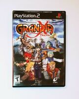 Grandia Xtreme (Sony PlayStation 2, PS2) CIB Video Game (No Registration Card)