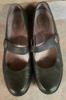 DANSKO Leather Mary Jane Clogs Sz 42