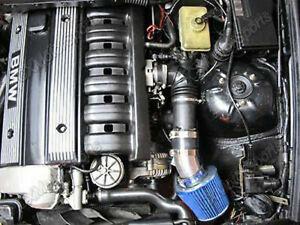Short Ram Intake Kit +BLUE Filter for 98-05 BMW E46 3-Series 320 323 325 328 330