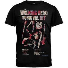 The Walking Dead How To Survive Survival Kit Men's Black T-shirt Men's Large