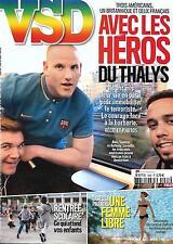 VSD N°1983 27 AOUT 2015  HEROS DU THALYS/ PARADIS/ ILE DE DEPP/ RENTREE SCOLAIRE