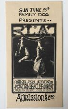 1967 Family Dog 67 Full Ticket June 25, 1967 Charlatans, 13th Floor Elevators