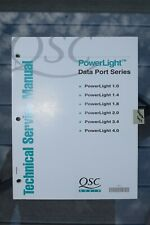 QSC Audio PowerLight Date Port Series Amplifier Technical Service Manual