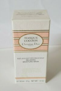 NEW Christian Dior Masque Cocoon Relaxant Hydratant relaxing Moisture Mask 50ml
