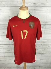 Men's Portugal Home Shirt - 2008/10 - Medium - #17 Ronaldo - Great Condition