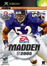 Madden 2005 Xbox Complete CIB Tested