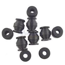 10PCS High Elastic Anti-Vibration Rubber Ball Dual-Head for Gimbal FPV PTZ Black