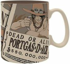 One Piece - Keramik Tasse Riesentasse 460 ml - Wanted Portgas D Ace