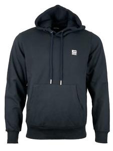 Diesel Men's Hoodie Logo Sweater Pullover Long Sleeve - Regular Fit - Black