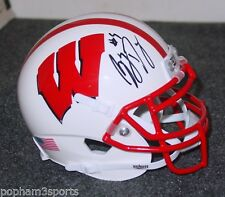 Garret Dooley Signed/Autographed Wisconsin Badgers Schutt Mini Helmet w/Coa